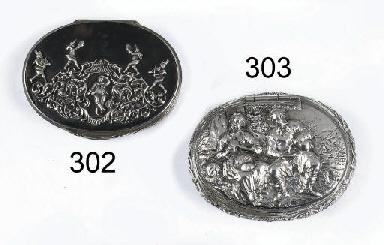 A rare a fine dutch silver tob