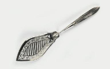 A Dutch silver fish slice