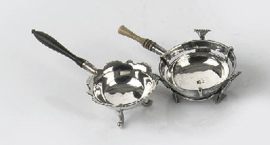 Two various dutch silver minia