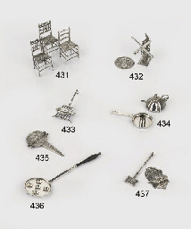 A dutch silver miniature evenv