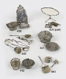 A miniature dutch silver laund