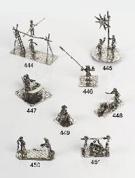 A rare Dutch silver miniature