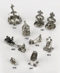 An early dutch silver miniatur