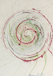Untitled (Spin Painting)