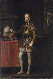 Portrait of King Philip II of