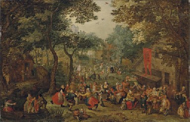 A village kermesse on St. Geor