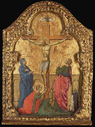 The Crucifixion with a Dominic