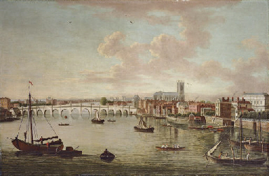 A view of Westminster Bridge w