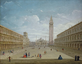 The Piazza San Marco, Venice,