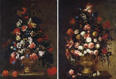 Tulips, roses, carnations, mor