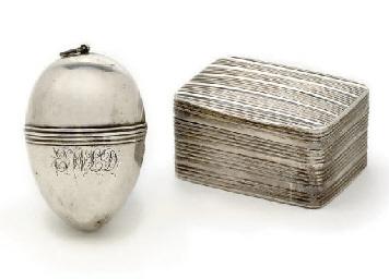 A George IV silver nutmeg grat