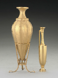 A 20TH CENTURY GREEK GOLD-COLO