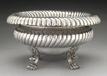 A LARGE GREEK METALWARE JARDIN