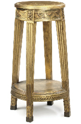 A GILTWOOD TORCHERE