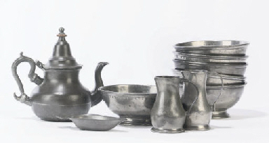 MISCELLANEOUS PEWTER
