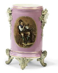 A GILT-HEIGHTENED SEVRES STYLE