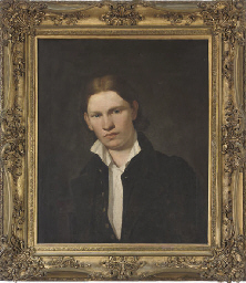 Portrait of a young man, bust-