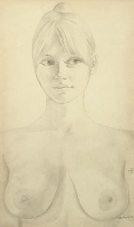 Female nude study; together wi