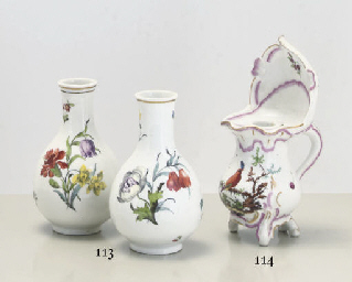 A PAIR OF VIENNA BOTANICAL BOT