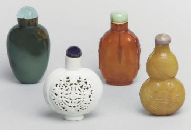 Seven Chinese snuff bottles, 1
