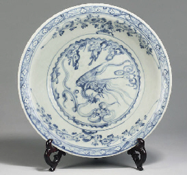 An Annamese blue and white cha