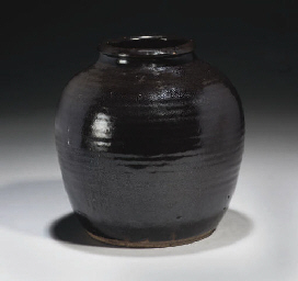 A Chinese 'oil-spot' jar, Yuan