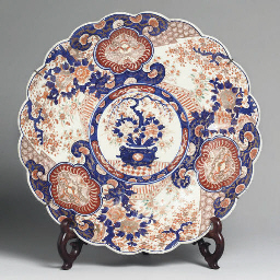 A Japanese imari charger, 19th