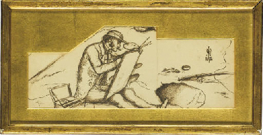Porait of the artist's brother