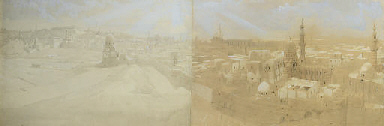 Panorama of Cairo