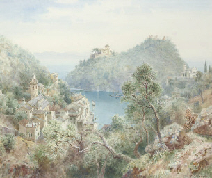 View of Portofino, near Genoa