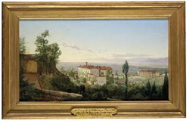Villa Limonaia from Villa Ombr