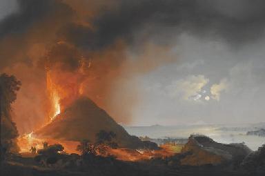 Vesuvius Erupting, 1872