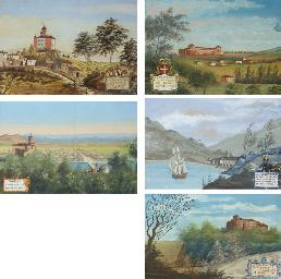 Five views of San Fruituoso; T