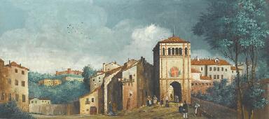 Il R. Castello e la Porta di P