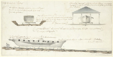 Design for a barge and barge h