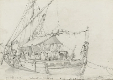 Shipping on the Riva degli Sch