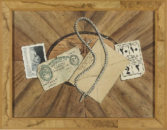 Trompe l'Oeil with an envelope