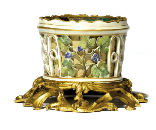 AN ORMOLU-MOUNTED CONTINENTAL