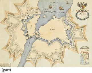Map of Geneva. Antiqua et nova