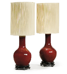 A PAIR OF CHINESE SANG DE BOEU
