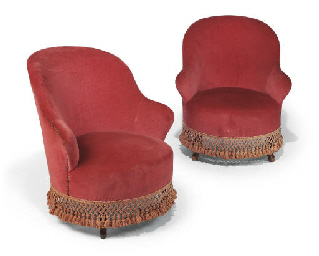 A PAIR OF NAPOLEON III BEECH E
