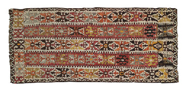 AN ANATOLIAN KILIM CARPET