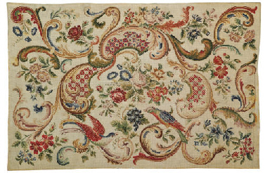 A EUROPEAN NEEDLEPOINT RUG