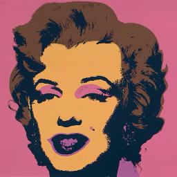 Marylin d'après Andy Warhol