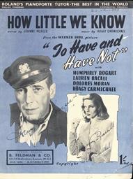 Humphrey Bogart/Lauren Bacall