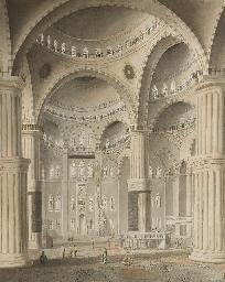 Vue intérieure de la Mosquée d