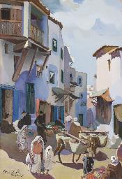 Une rue dans la kasbah