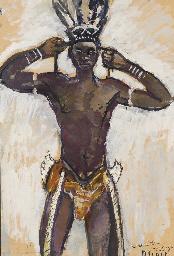 Danseur, Danané, Côte d'Ivoire