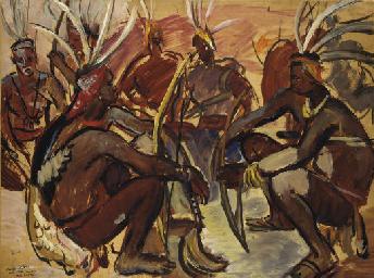 Archers Lobi, Gaoua, Haute-Vol