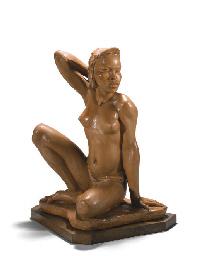 Femme Batshock, vers 1930